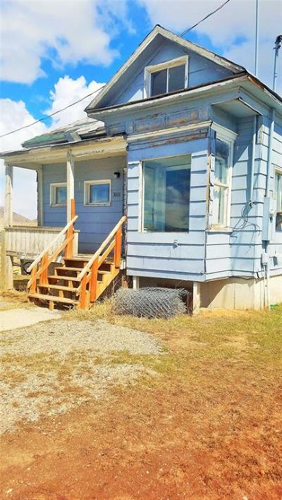 Butte, Walkerville Single Family Home For Sale: 3808 S Wyoming