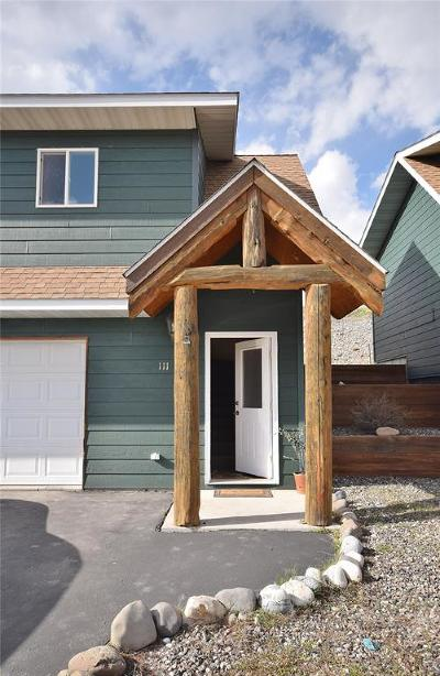 Bozeman Condo/Townhouse For Sale: 111 Gravel Hollow Drive
