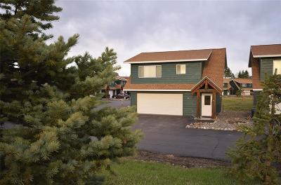 Bozeman Condo/Townhouse For Sale: 90 Gravel Hollow Drive