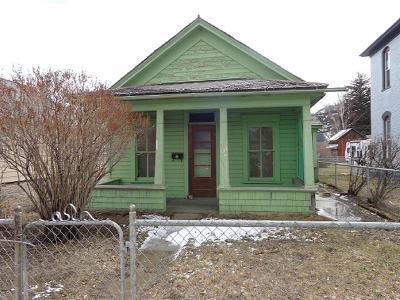 Anaconda Single Family Home For Sale: 311 W 3rd