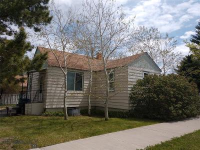 Livingston Single Family Home For Sale: 1223 W Crawford