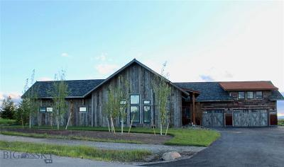 Bozeman Single Family Home For Sale: 790 Braveheart Loop