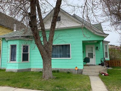 Anaconda Single Family Home For Sale: 302 W 4th