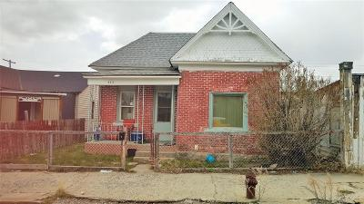 Butte MT Single Family Home For Sale: $44,900
