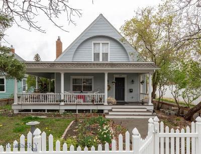 Livingston Single Family Home For Sale: 119 N 5th Street