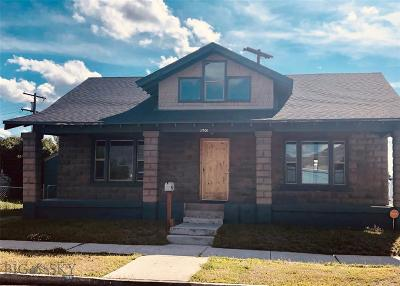 Butte MT Single Family Home For Sale: $179,500