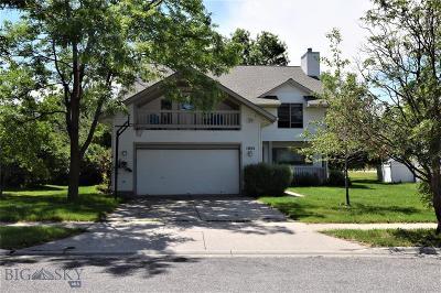 Bozeman Single Family Home For Sale: 1001 Woodland Drive