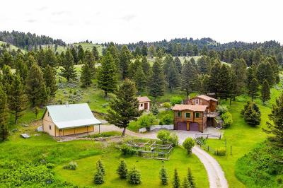 Single Family Home For Sale: 124 Middle Skunk Creek Road