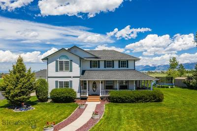Bozeman Single Family Home For Sale: 7 Indian Paintbrush Drive