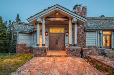 Big Sky Single Family Home For Sale: 74 Upper Beehive Loop