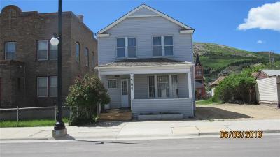 Anaconda Single Family Home For Sale: 707 E 3rd Street