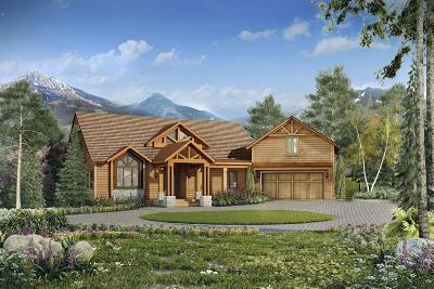 Big Sky Single Family Home For Sale: 13 Little Plume Road