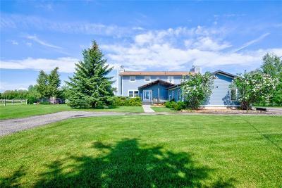 Bozeman Single Family Home For Sale: 5655 Cottonwood