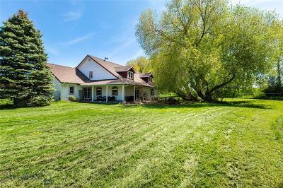 Bozeman Single Family Home For Sale: 4430 River Road