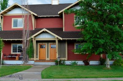 Bozeman Condo/Townhouse For Sale: 4243 W Babcock #2