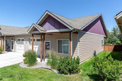 Bozeman Condo/Townhouse For Sale: 4369 Brookside #B