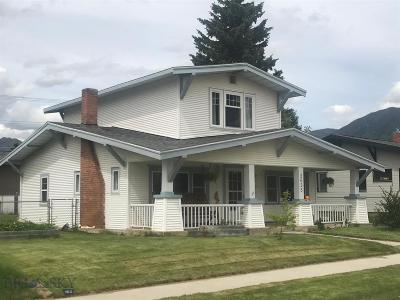 Butte, Walkerville Single Family Home For Sale: 2635 State