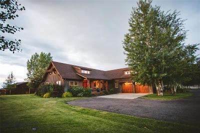 Bozeman Single Family Home For Sale: 91 Big Chief Trail