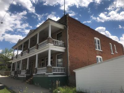 Butte Multi Family Home For Sale: 305 W Broadway