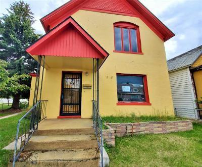 Anaconda Single Family Home For Sale: 415 W Park Street