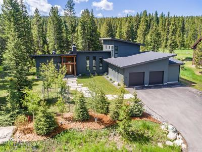 Big Sky Single Family Home For Sale: 114 Autumn Trail