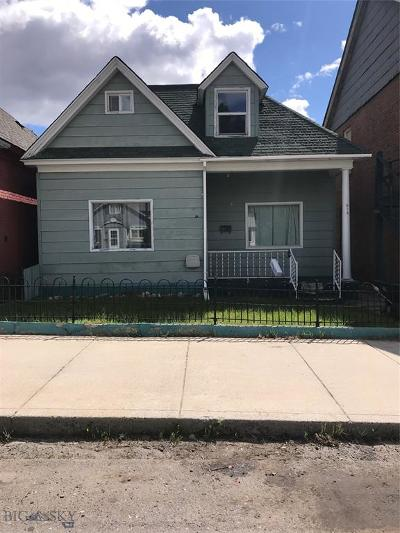 Butte Single Family Home For Sale: 918 Colorado Street