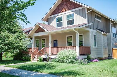 Bozeman Single Family Home For Sale: 4497 Alexander Street
