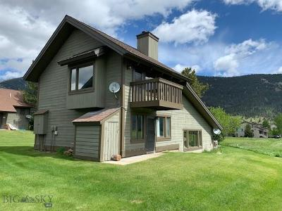 Big Sky Condo/Townhouse For Sale: 20 Yellowstone Spur Road