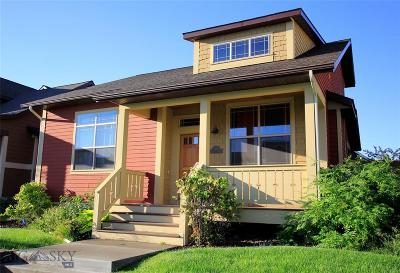 Bozeman Single Family Home For Sale: 3876 Galloway Street
