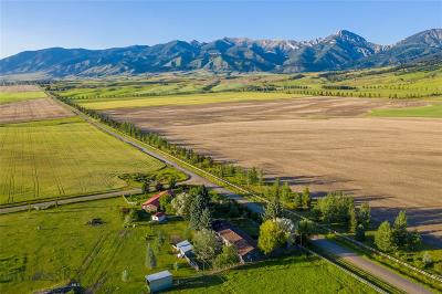 Bozeman Single Family Home For Sale: 7199 Walker Road