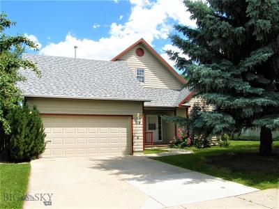 Bozeman Single Family Home For Sale: 1118 Woodland Drive