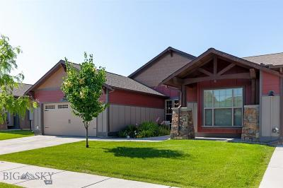 Bozeman Condo/Townhouse For Sale: 5482 Glenellen Drive