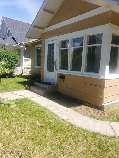 Butte Single Family Home For Sale: 1716 Lowell