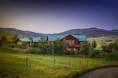 Bozeman Single Family Home For Sale: 250 Wapiti Peak Trail