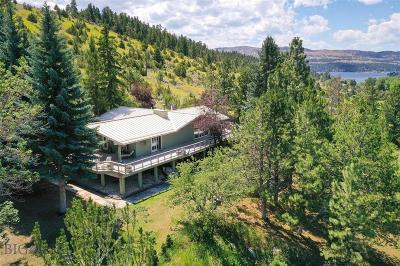 Helena Single Family Home For Sale: 8445 Canyon Ferry Road