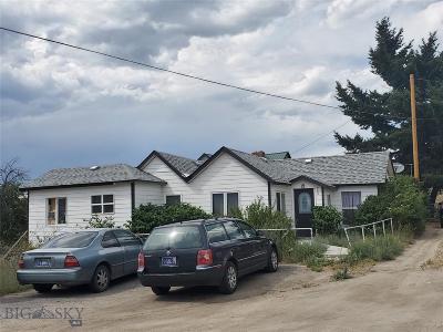 Butte Single Family Home For Sale: 209 W Boardman