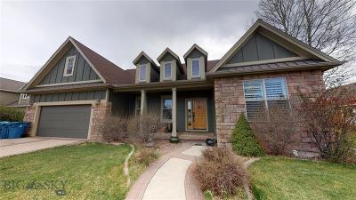 Bozeman Single Family Home For Sale: 34 W Kimberly Court