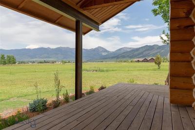 Bozeman, Belgrade, Big Sky, Livingston, Manhattan, Three Forks, Willow Creek, Churchill Single Family Home For Sale: 5080 Hallelujah