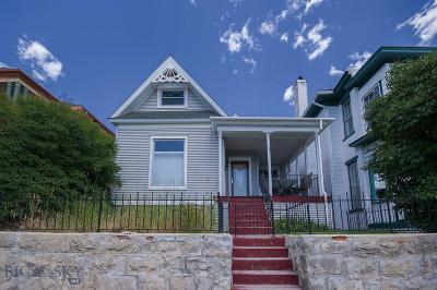 Butte Single Family Home For Sale: 833 W Broadway
