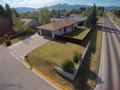 Bozeman Single Family Home For Sale: 1104 N Pinecrest Drive