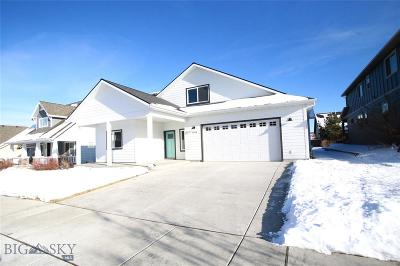 Bozeman Single Family Home For Sale: 3184 Summerset Drive