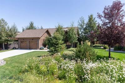 Bozeman Single Family Home For Sale: 118 Wickwire Way