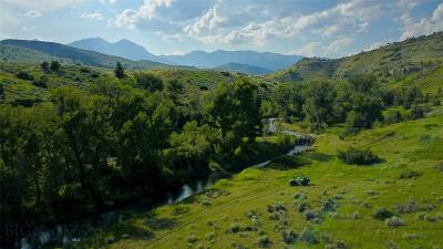 Farm For Sale: Tbd Big Timber Canyon Rd