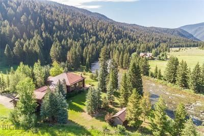 Big Sky Single Family Home For Sale: 360 Rainbow Ranch Rd