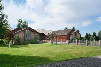 Bozeman Single Family Home For Sale: 13 Lariat Loop