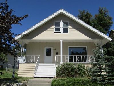 Butte Single Family Home For Sale: 1225 W Platinum Street