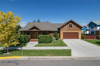 Bozeman Single Family Home For Sale: 4579 Waters Street