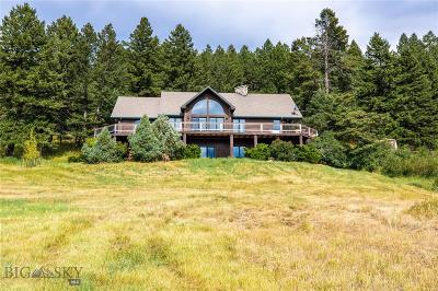 Bozeman Single Family Home For Sale: 69 Upper Kelly Creek