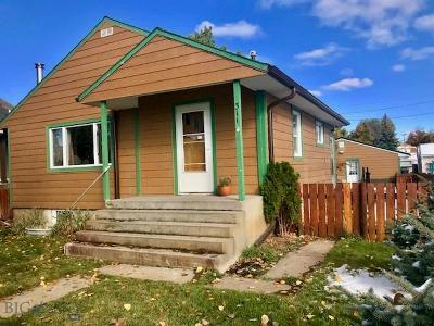 Choteau Single Family Home For Sale: 311 8th Avenue NW