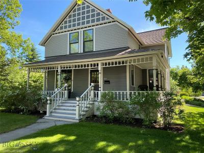 Bozeman Single Family Home For Sale: 320 S Willson Avenue